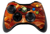 XBOX Controller Skins / Do you need to cover your Xbox controller with Bacon? We thought so. Our skins come in such a variety, you won't be disappointed.