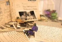 Letters / I love old letters, love to read them and daydream about what life must have been like back then.