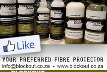 Blockout Solution Products / We offer maintenance products such as a luxurious leather care treatment. Leather cleaner and conditioner and a fabric foam spotter for spots and stains. We offer professional applications for fabric and leather protection, we also provide specialized cleaning service on site.