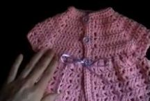 Crochet Baby tutorials & written patterns / Find all of my video tutorials on baby items on this one board.  Many have written patterns too!