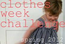 kids clothes week challenge