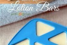 homemade soaps and lotions