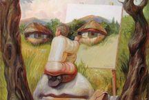 Is het kunst?  / Kunst of geen kunst? In ieder geval leuk om te bekijken!