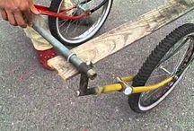 Fahrrad Anhänger diy