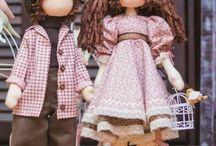 Dolls / Allerlei soorten poppen zijnde geen dieren en geen waldorf