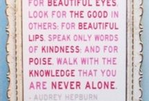 La Vie Est Belle....Words of Wisdom / WORD!