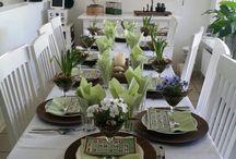 Borddekking - Table settings