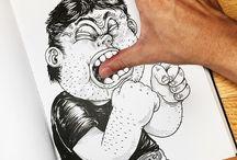 Moodboard Illustration