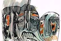 Fine Arts Darwing 2013 # Morto ( metamorphosis)