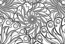 Coloring pages / by Carmela Merriman