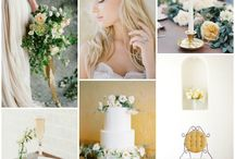 WEDDING || COLOURS & INSPIRATION BOARDS