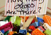 Lego-Geburtstagsparty / Motto für den Kindergeburtstag, Tischdekoration, Party-deko, DIY-Ideen, Geburtstagsspiele, Mitgebsel