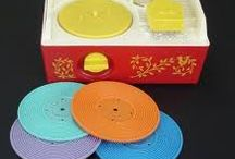 My childhood entertainment / Before iPods and iPads, this is what we did as kids.  Good times....
