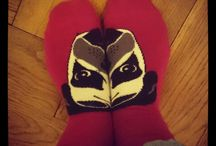 Socks, socks, socks. / It's all about the socks.