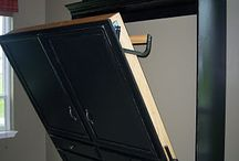 Murphy bed ideas / by Becky Christensen