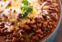 Chili, Soup, Stew & Chowder❤ / Different soups, chili's, chowder & stews...soul warming yummies for sure!!❤