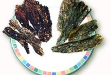 Chile Pasado / Roasted and dried green chiles with a tinge of heat