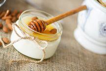 Mască cu iaurt și miere