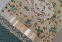 Books handmade / Caiete minunate