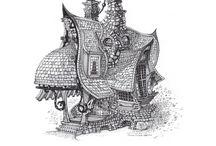 Домики и замки