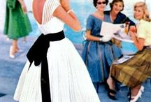 50s summer fashion / 50s vintage fashion for hot days