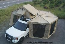 Tent Land Rover