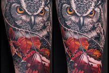 Tattoo - owls