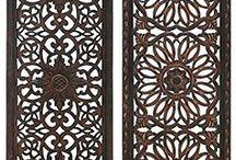 Bali style panels