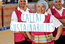 PepsiCo Talent Sustainability / Talent sustainability is PepsiCo's goal to provide a safe and inclusive workplace globally and to respect, support and invest in the local communities where we operate.  Read the 2013 Sustainability Report: http://pepsi.co/zwqdy / by PepsiCo