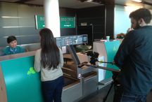 Aer Lingus Shoot / The One Productions Team at a shoot for Aer Lingus
