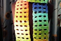 Crocheting-Scarves