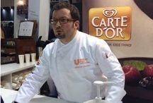 HORECA Exhibitions Athens - UNILEVER Food Solutions Hellas, 2014 / February 2014, Athens UNILEVER Food Solutions Hellas invites Christos Lambrou to present his recipes based on Carte D'Or products in a 4-Day Event at HORECA Exhibition in Athens
