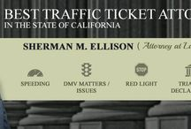 The Law Office of Sherman M Ellison / Sherman M. Ellison has been practicing law since 1970. Mr. Ellison is a trial attorney who exclusively practices traffic ticket and criminal defense. Visit www.traffic-ticket-attorney.com