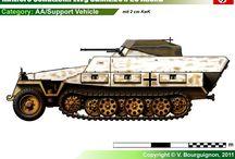 WW2 - SDKFZ 251/23