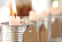 svíčky nápady