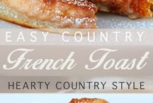 Country French toast