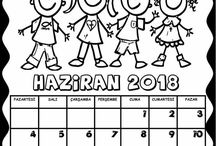 2018. naptár