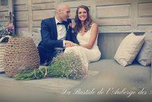 Robe de mariée / Vu chez la Bastide de l'Auberge des Adrets - Robe de mariée mariage en Provence  http://mariage-en-provence.fr/galerie/