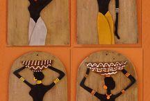 Afrikalı kadınlar / Pano yapılacaklar
