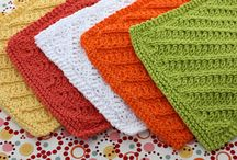 Dishcloths, Potholders & Coasters / I had too many dishcloth patterns on my knitting board so I decided to split them off into their own board. I also pin hot pads here and other like items. / by Colleen Smith