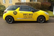 Adept Drive Driving School Training Cars / Driving School training Cars Citroen DS3