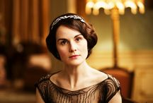 Downton Abbey / Sybil and Tom, Mary and Matthew, Anna and Bates, Lady Violet, Edith ...  I love everything about Downton Abbey - the stories, the clothes, the historical detail.