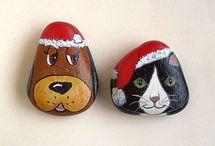 stein hund und katze