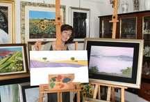 Me and my paintings