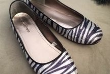 Zebra Striped Shoes for Shoeaholics / Zanny for zebra stripes! Zebra is one of the most famous animal prints for shoes whether they are zebra sandals, zebra boots or zebra pumps.