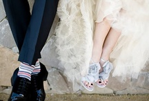 Bride and Groom Shoes! / Should Bride and Groom wear matching or un-matching shoes? We think both the options are viable, as long as you do it with great style!
