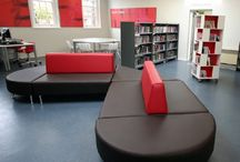 Eductional Furniture / From nursery school book storage, matching study desks and chairs, library, classroom, dining and reception year furniture through to the school office and staff breakout area we understand the need for creative and clever storage is imperative.