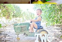 Tractor themed party ideas