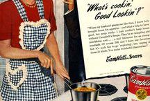 Old vintage ads