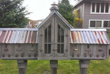 Little Free Libraries! / The best thing to pop up in a long time. What a way to unite people!!